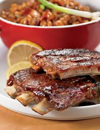 BABY BACK RIBS with Root Beer BBQ Sauce