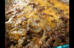 Southern Hamburger and Potato Casserole