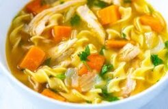 Ultra-Satisfying Homemade Chicken Noodle Soup Recipe