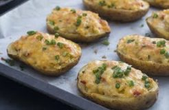 Chicken Stuffed Baked Potatoes Recipe