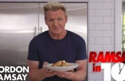 Gordon Ramsay Cooks Shrimp Scampi In Just 10 Minutes