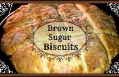 Homemade Brown Sugar Biscuits