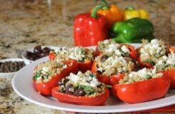 Greek Stuffed Peppers Recipe