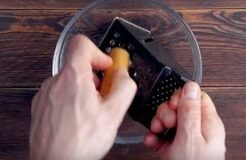 Shred The Hot Dog On A Grater & It Will Look Like . . .