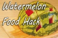 How to Eat a Watermelon