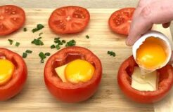 Just Put An Egg In A Tomato And You Will Be Amazed!