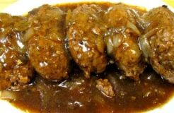 Salisbury Steak Recipe How To Make Classic Salisbury Steak and Gravy