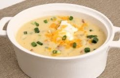 Loaded Potato Soup Recipe - Laura Vitale - Laura in the Kitchen Episode 863