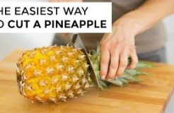 How To Cut A Pineapple | Clean & Delicious
