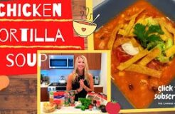 HOMEMADE CHICKEN TORTILLA SOUP by The Canned Cook